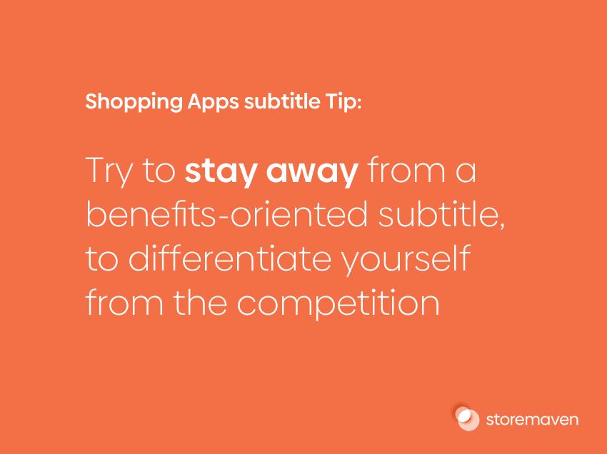 ASO App Store Category Spotlight: Shopping Apps - 3
