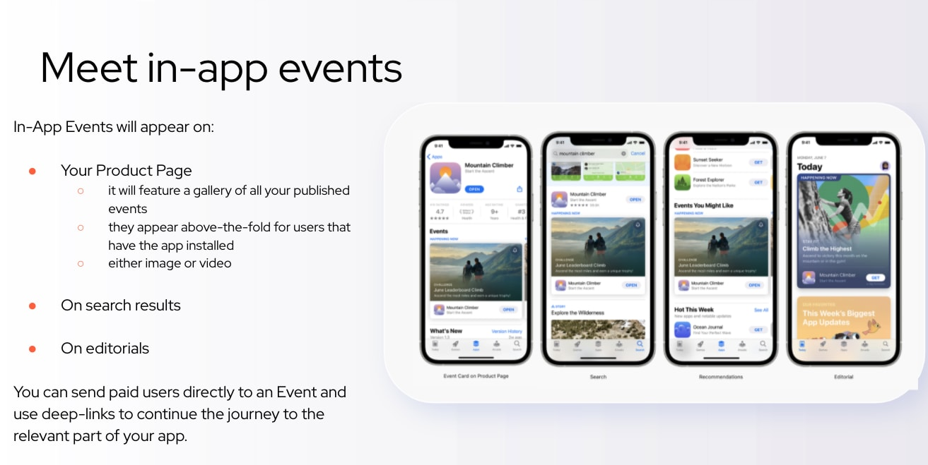 What are In-App Events and How Do They Impact ASO? - 1
