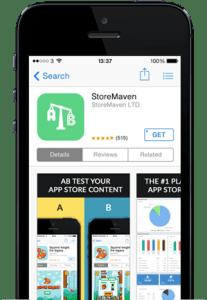StoreMaven App Page