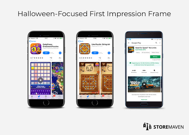 Halloween-Focused First Impression Frame