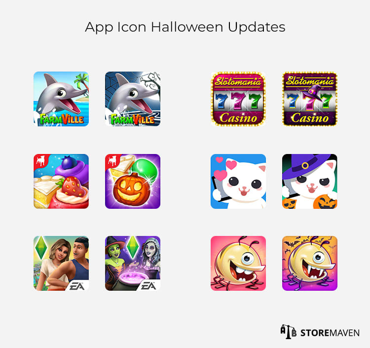 App Icon Halloween Updates