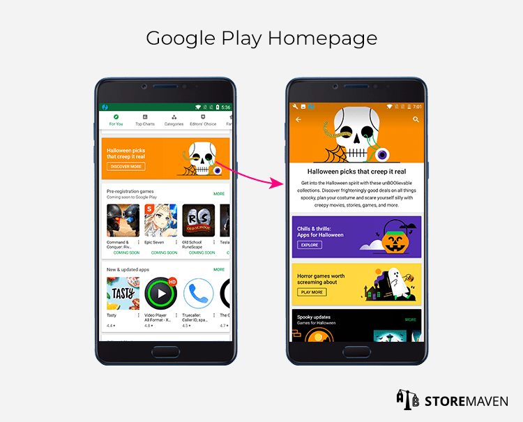 Google Play Homepage