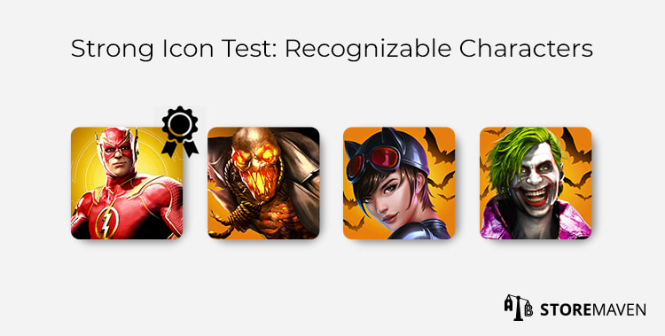 Strong Mobile App Icon Test