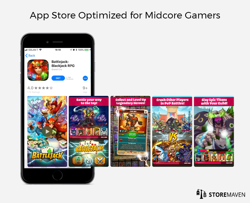 App Store Optimized for Midcore Games