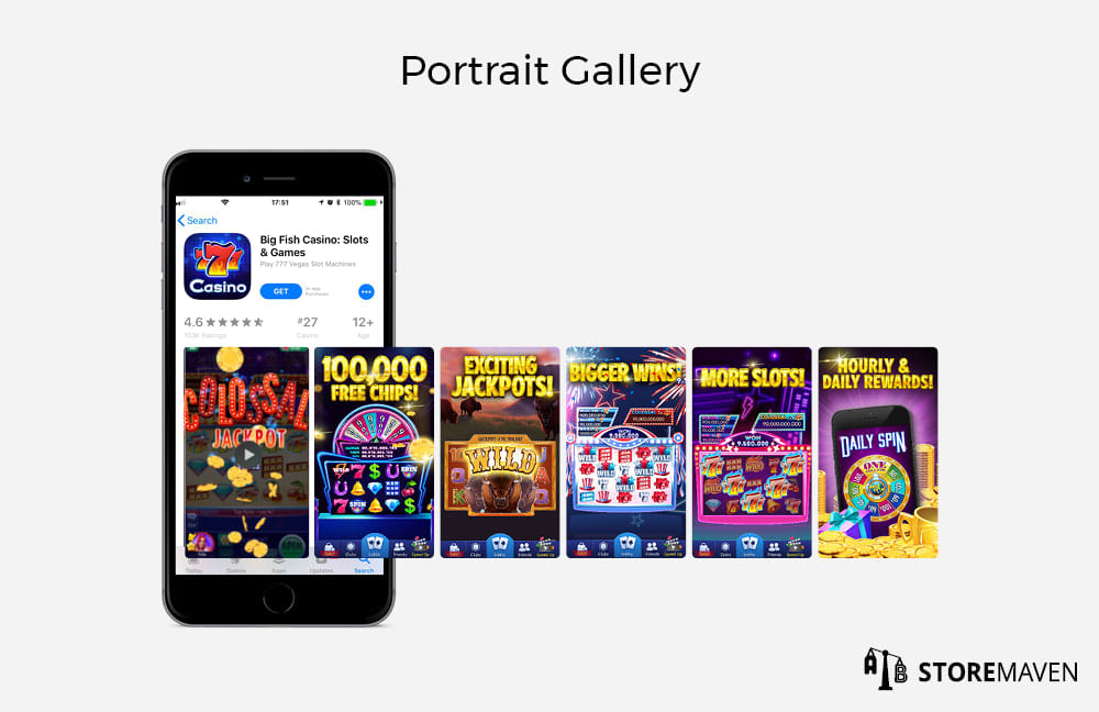 Apple App Store Portrait Gallery