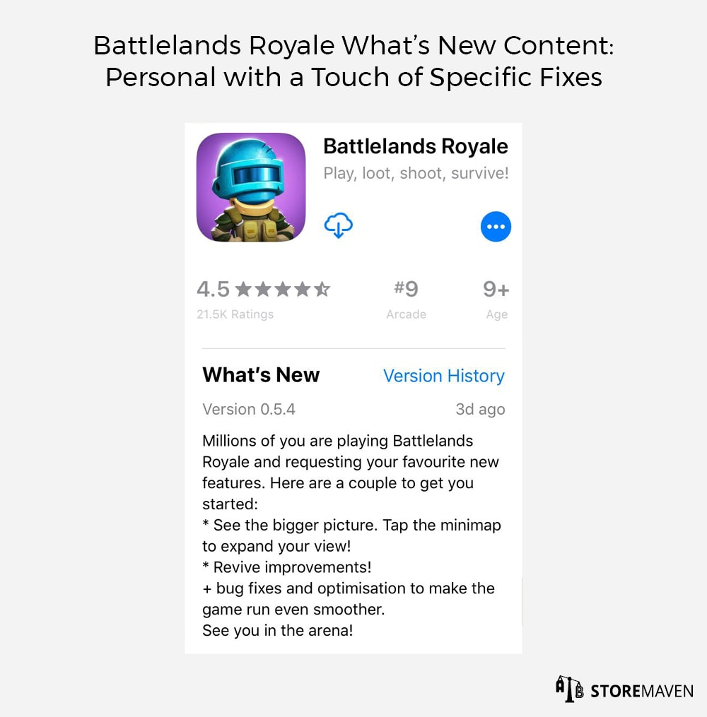 Battlelands Royale What's New Content: Personal with a Touch of Specific Fixes
