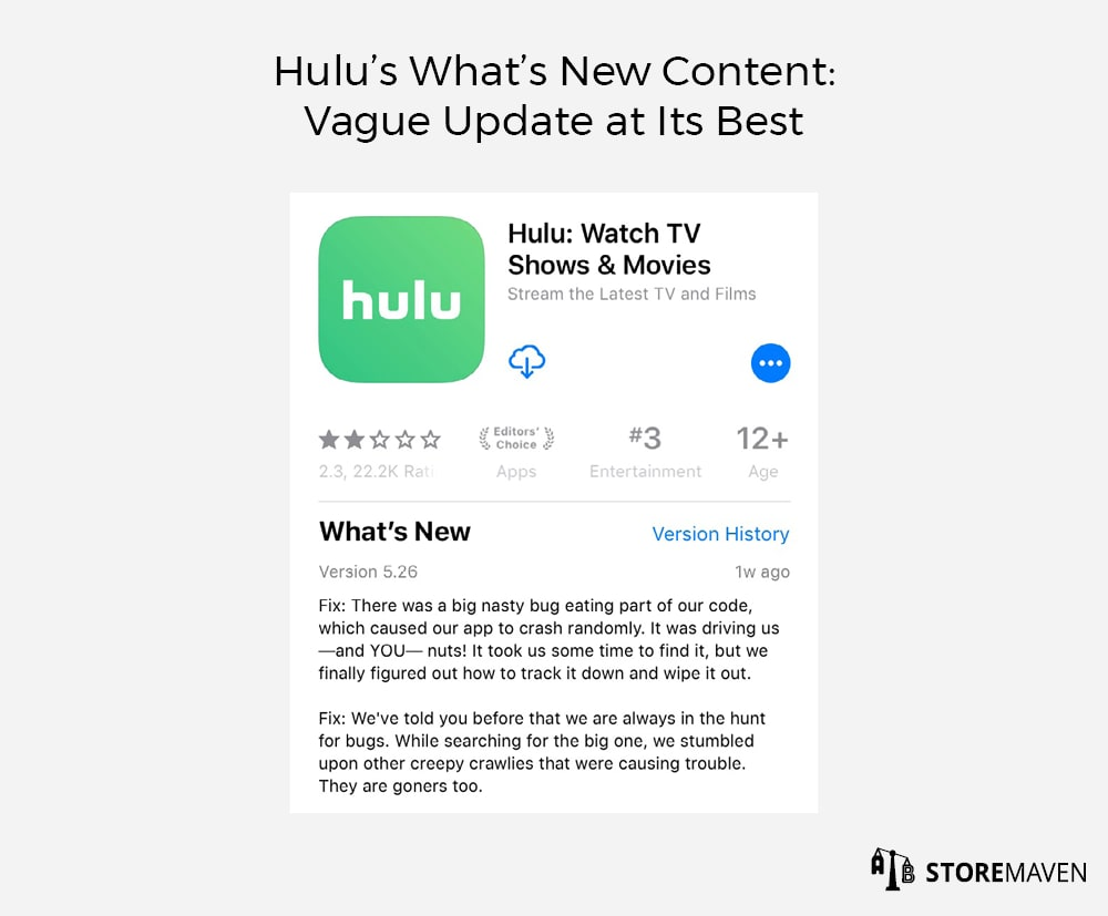 Hulu's What's New Content: Vague Update at Its Best