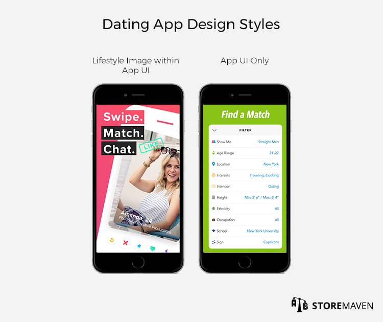 Dating App Design Styles