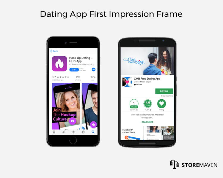 Dating App First Impression Frame