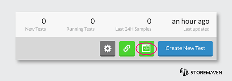 Facebook Campaign for ASO Test: Add Pixel to Dashboard