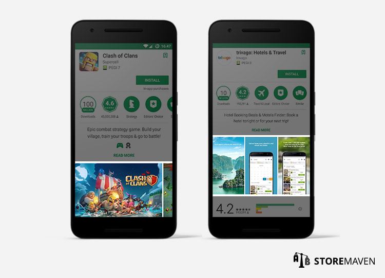 Google Play App Store Requirements: Screenshots