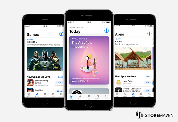 All-new iOS 11 Apple App Store