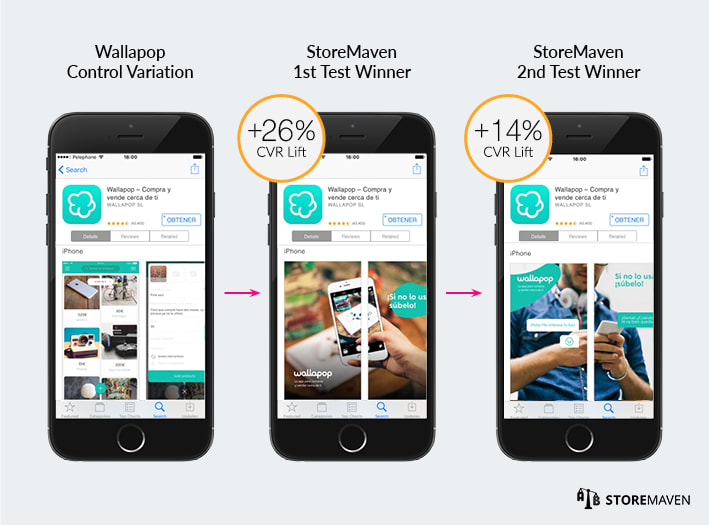 Wallapop ASO Case Study by StoreMaven