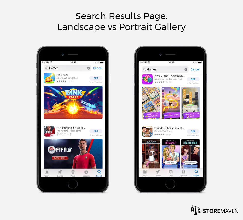 Apple App Store Gallery: Landscape vs Portrait (Which is Best for Your CVR?) - 5