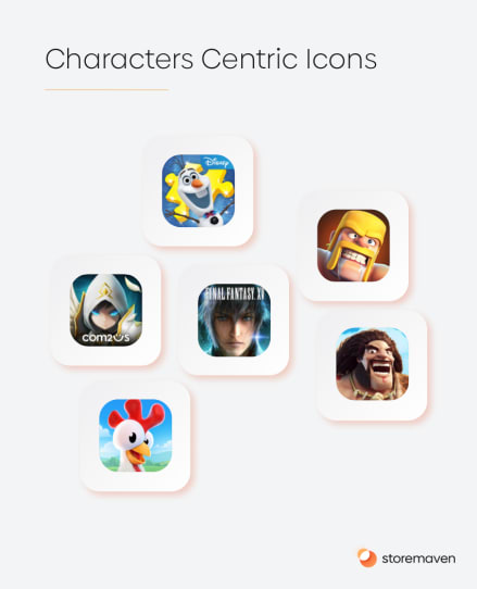 Characters Centric Icons
