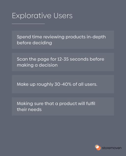Explorative Users - 1
