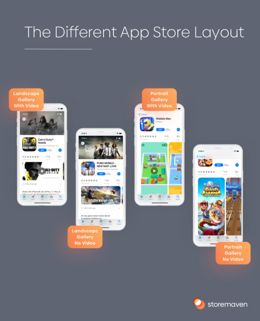 The Different App Store Layout