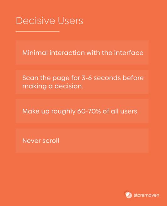 Decisive Users