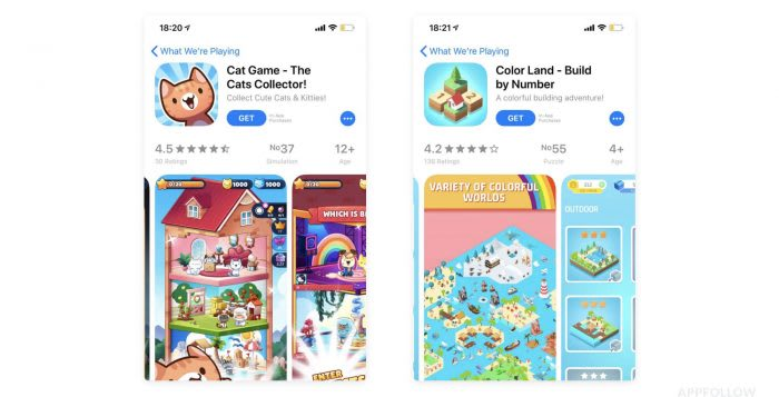 App Store and visual optimization