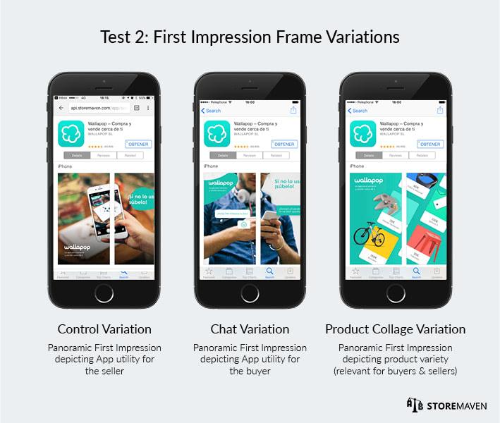 First Impression Frame Variations