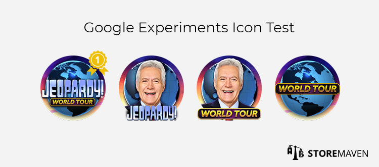 Google Experiments Icon Test
