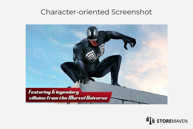 Character-oriented Screenshot