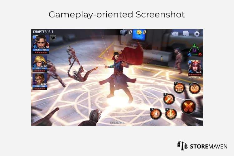 Gameplay-oriented Screenshot