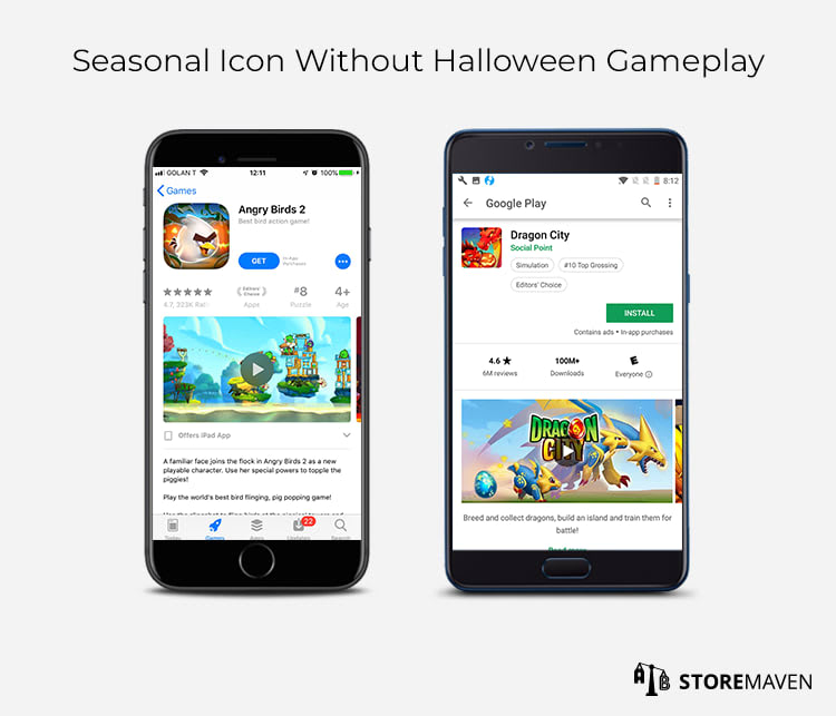 Seasonal Icon Without Halloween Gameplay