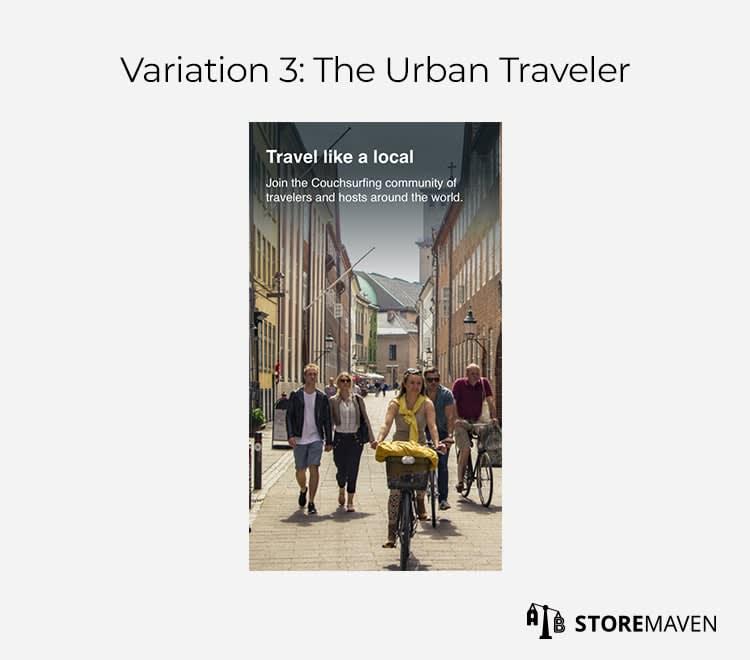 Variation 3: The Urban Traveler