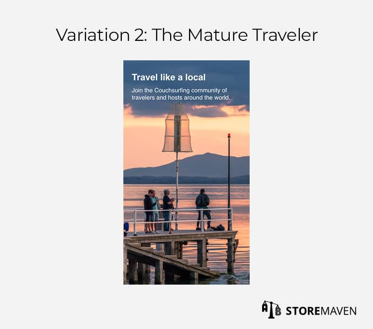 Variation 2: The Mature Traveler