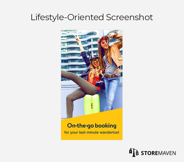 Lifestyle-Oriented Screenshot