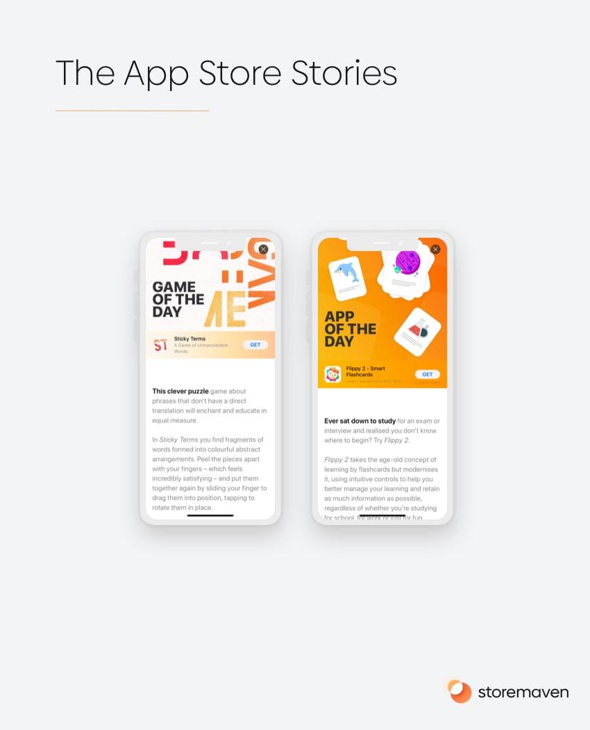 App Store Stories