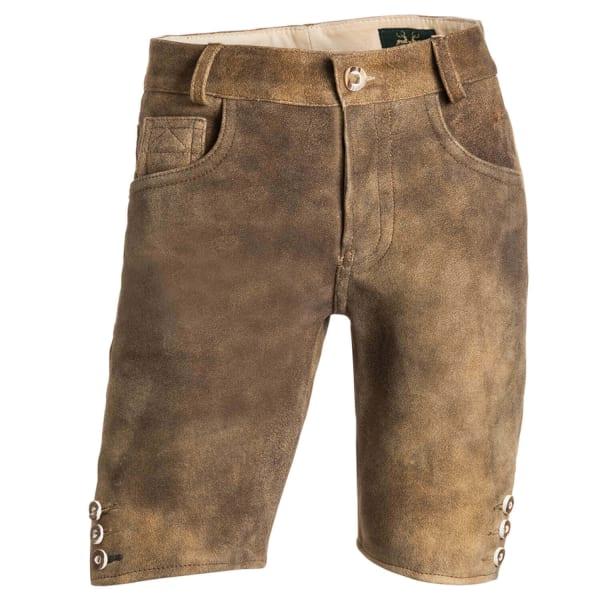Herren Lederhose Jeans K18