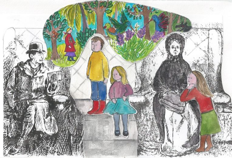 The Storyteller a short story by Saki
