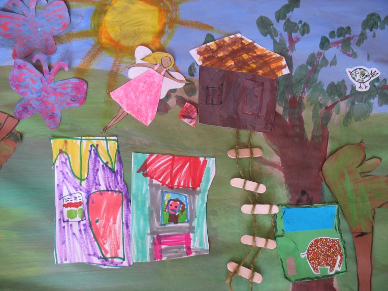 fairyland story painting