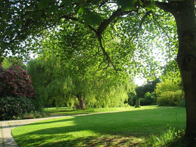 Emerson College gardens