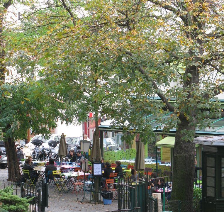 cafe, Montmartre, Paris