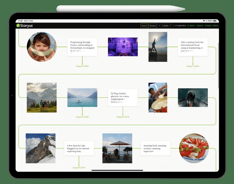 Storyus, the Slow Social platform