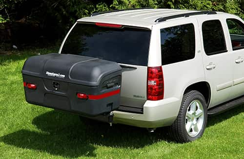 Hitch Cargo Carriers tailgate closed