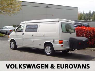 StowAway Standard Cargo Carrier on Eurovan