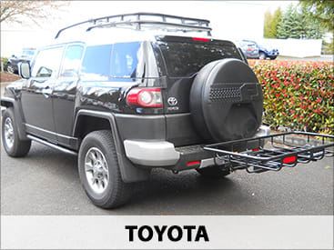 StowAway Cargo Rack on Toyota