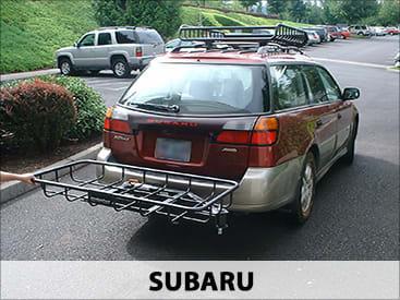 StowAway Cargo Rack on Subaru