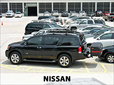 StowAway MAX Cargo Carrier on Nissan
