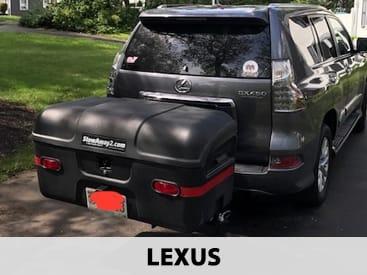 StowAway MAX Cargo Carrier on Lexus