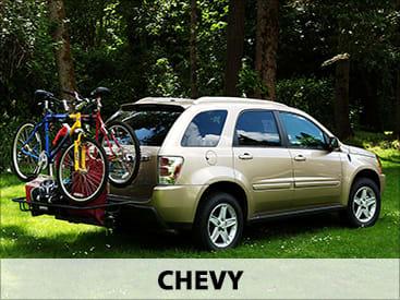 StowAway Bike & Cargo Rack on Chevy