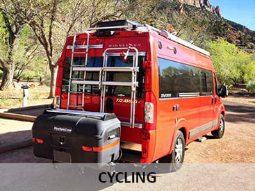StowAway Cargo Carriers for cycling