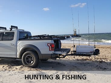 StowAway Cargo Carriers for hunting and fishing