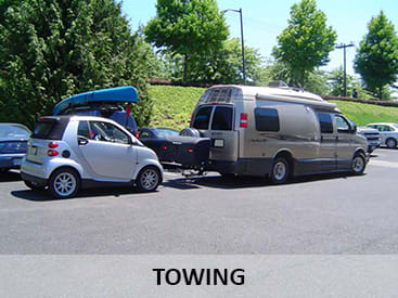 Towing and StowAway Cargo Carriers