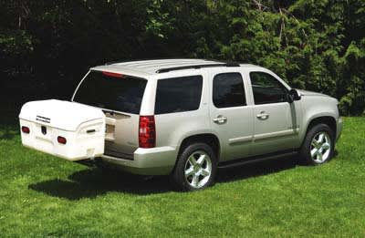 chevy tahoe with white max carrier