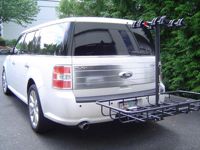StowAway Cargo Bike Rack on Ford Flex